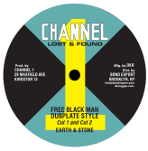 Earth & Stone - Free Black Man (Dubplate Style) / Cut 2 / I Roy - Social Development / Dub (Channel One Lost & Found / DKR) US 10""